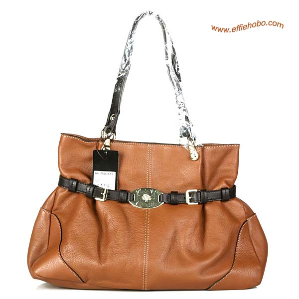 Mulberry Beatrice Leather Tote Bag Oak