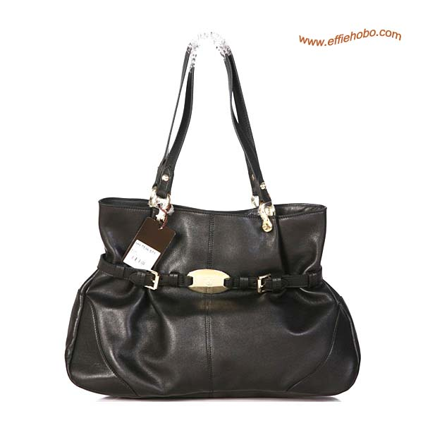 Mulberry Beatrice Leather Tote Bag Black