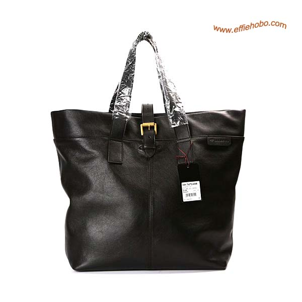 Mulberry Balthazar Leather Tote Bag Black
