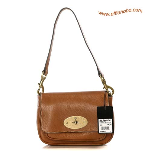 Mulberry Camera Leather Satchel Bag Oak