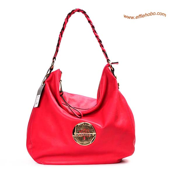 Mulberry Daria Shoulder Bag Red