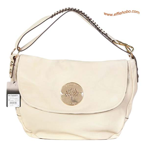 Mulberry Small Daria Leather Satchel Bags White