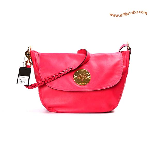 Mulberry Small Daria Leather Satchel Bags Red