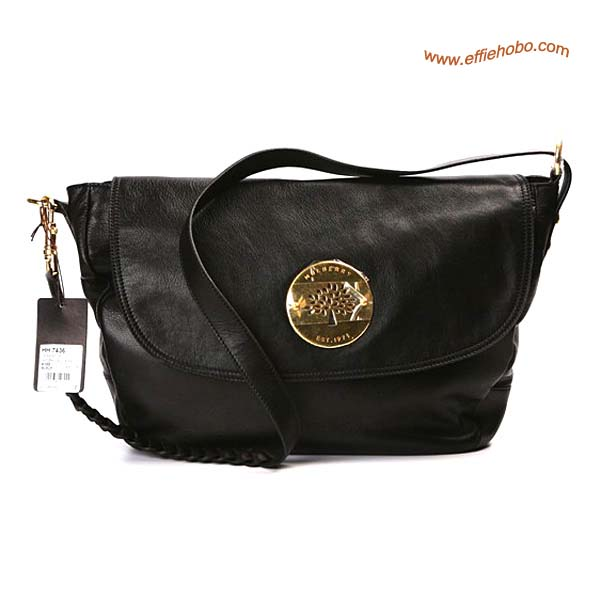 Mulberry Small Daria Leather Satchel Bags Black