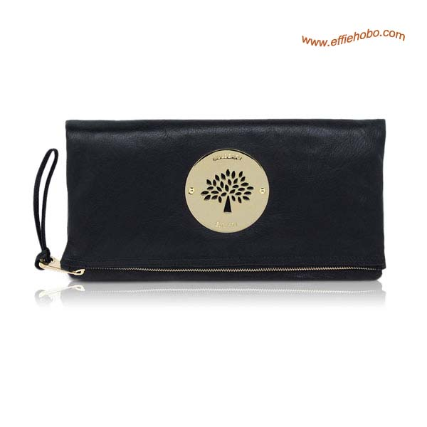 Mulberry Daria Clutch Bags Black