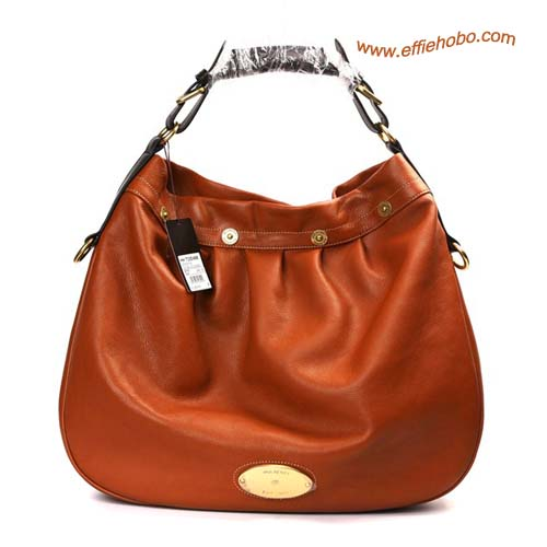 Mulberry Mitzy East West Leather Hobo Bag Oak