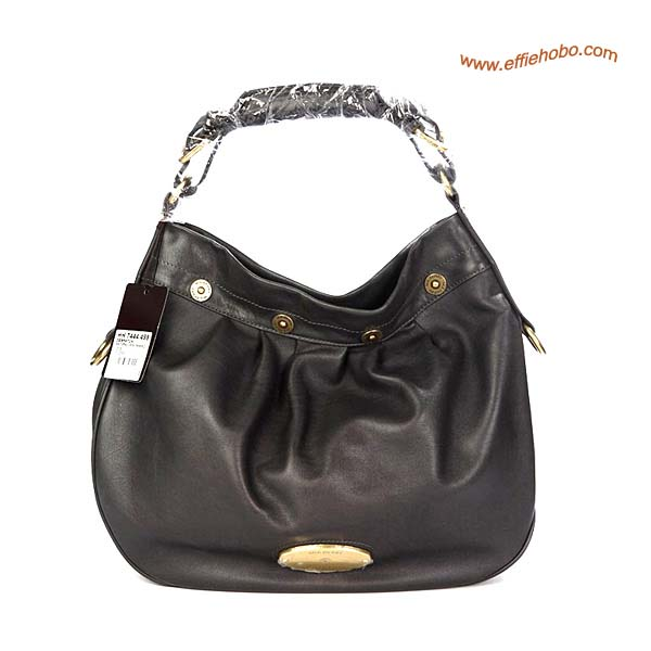 Mulberry Mitzy Leather Hobo Bag Gray