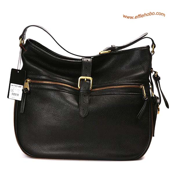 Mulberry Mabel Leather Hobo Bag Black