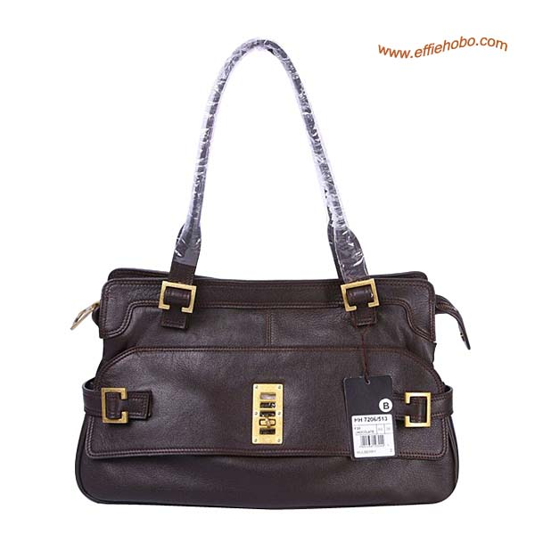 Mulberry Maggie Leather Tote Bag Brown