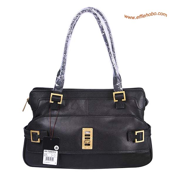 Mulberry Maggie Leather Tote Bag Black