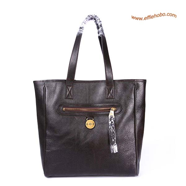 Mulberry Somerset Leather Tote Bag Brown