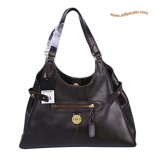 Mulberry Clasisc Somerset Leather Tote Bag Brown