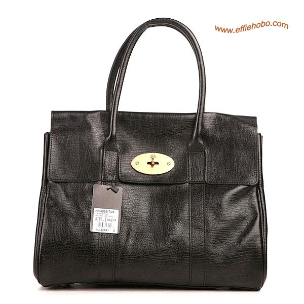 Mulberry Bayswater Shoulder Bag Black