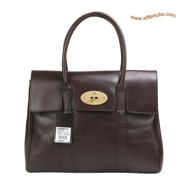 Mulberry Standard Bayswater Shoulder Bag Brown