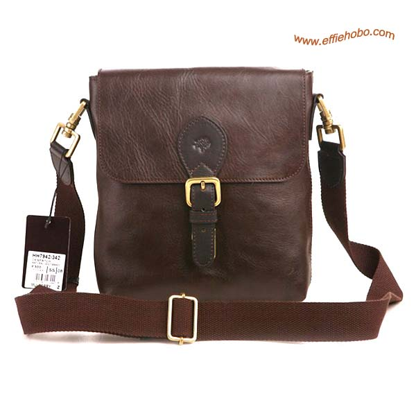 Mulberry Men's Albert Messenger Bag Brown
