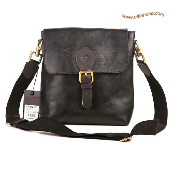 Mulberry Men's Albert Messenger Bag Black