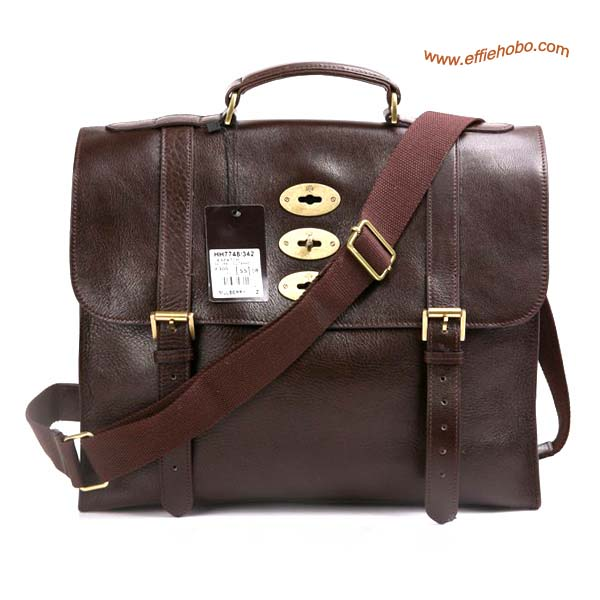 Mulberry Men's Ted Messenger Bag Brown