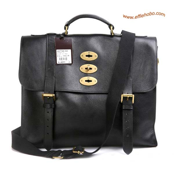 Mulberry Men's Ted Messenger Bag Black