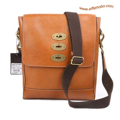 Mulberry Men's Slim Brynmore Messenger Bag Oak
