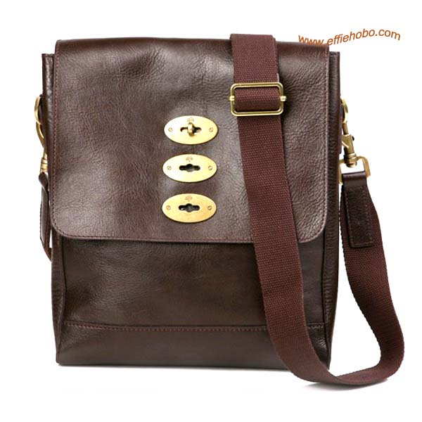 Mulberry Men's Slim Brynmore Messenger Bag Brown