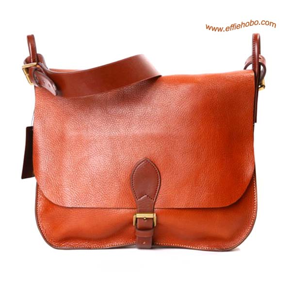 Mulberry Men's Small Morgan Messenger Bag Oak