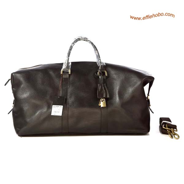Mulberry Men's Holdalls Clipper Bag Brown Leather