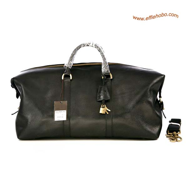 Mulberry Men's Holdalls Clipper Bag Black Leather