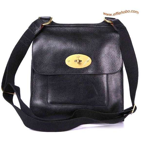 Mulberry Men's Antony Messenger Bag Black
