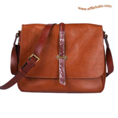 Mulberry Men's Perry Messenger Bag Oak
