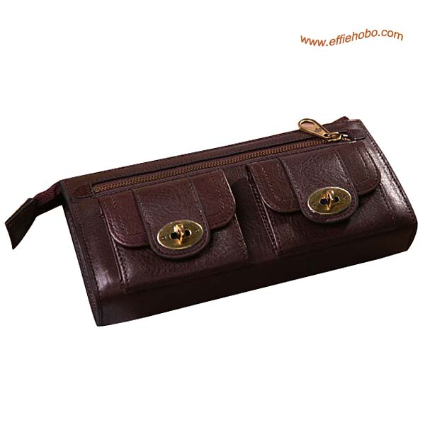 Mulberry Lizzie Purse Brown