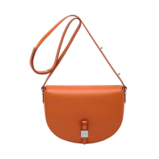 2014 Autumn/Winter Mulberry Tessie Satchel in Orange Soft Small Grain