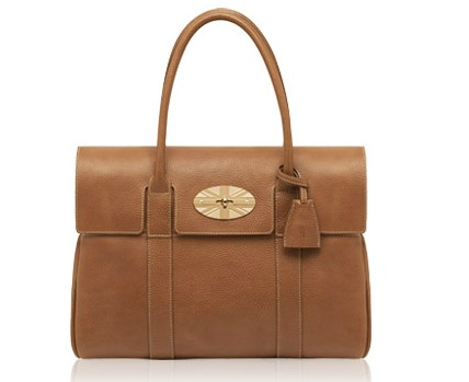 Free Gift for order amount over 420GBP-Mulberry Union Jack Bayswater Oak Leather