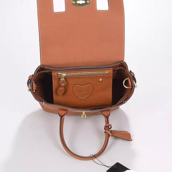 Mulberry Fall/Winter 2014-Mini Cara Delevingne Bag Oak Natural Leather