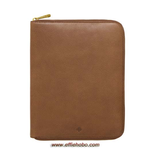 Mulberry iPad Folio Oak Natural Leather