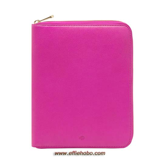 Mulberry iPad Folio Mulberry Pink Glossy Goat