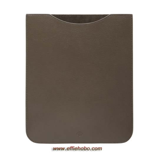 Mulberry Simple iPad Sleeve Taupe Shiny Goat