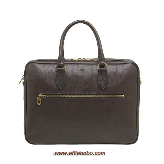 Mulberry Heathcliffe Chocolate Natural Leather