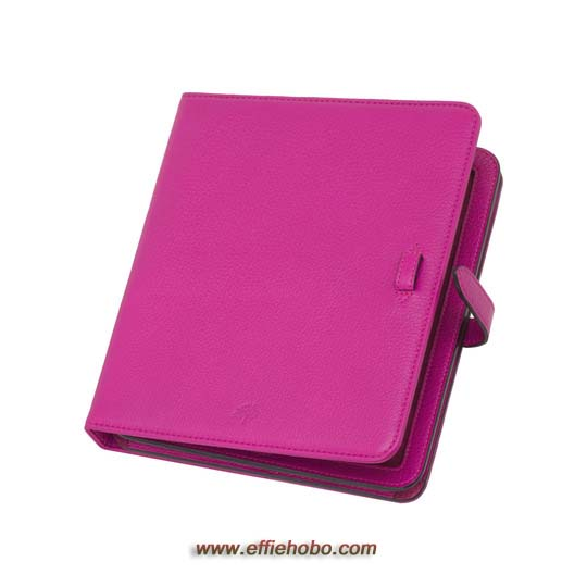 Mulberry Adjustable iPad Sleeve Mulberry Pink Glossy Goat