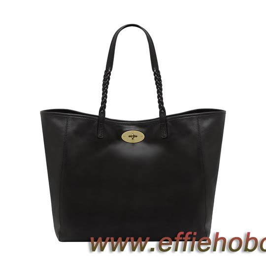 Mulberry Medium Dorset Tote Black Soft Nappa