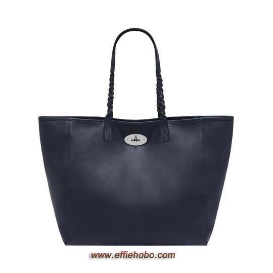 Mulberry Medium Dorset Tote Midnight Blue Soft Nappa Leather