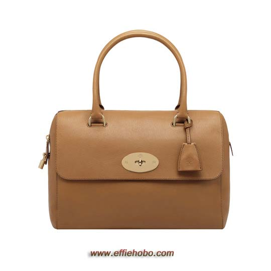 Mulberry Del Rey Deer Brown Glossy Goat with Soft Gold