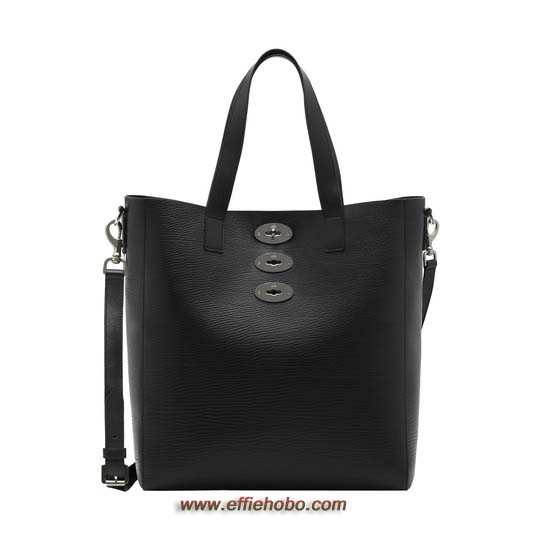 Mulberry Brynmore Tote Black Hand Rolled