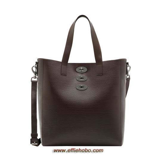 Mulberry Brynmore Tote Chocolate Hand Rolled
