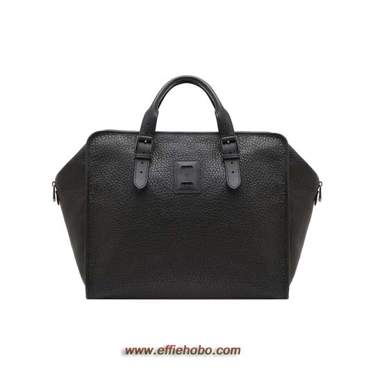 Mulberry Freddie Tote Black Soft Large Grain