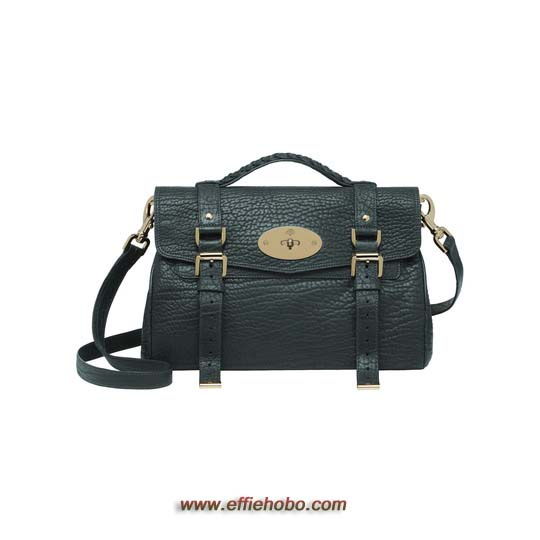 Mulberry Alexa Pheasant Green Shrunken Calf