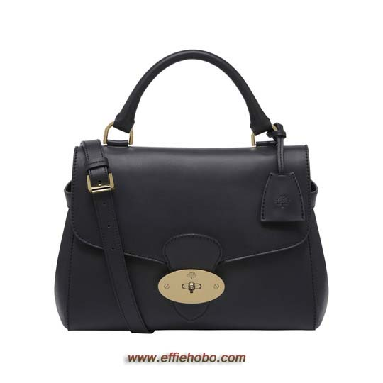Mulberry Primrose Black Polished Calf