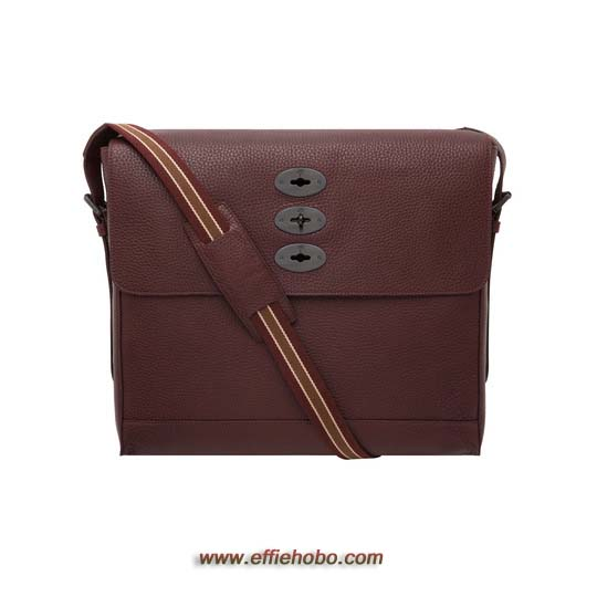 Mulberry Brynmore Oxblood Soft Grain Leather