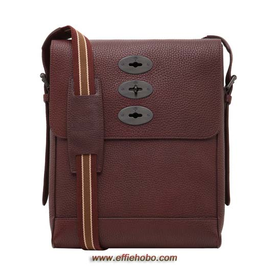 Mulberry Slim Brynmore Oxblood Soft Grain Leather