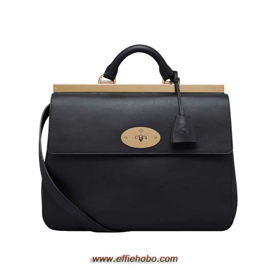 Mulberry Suffolk Black Classic Calf
