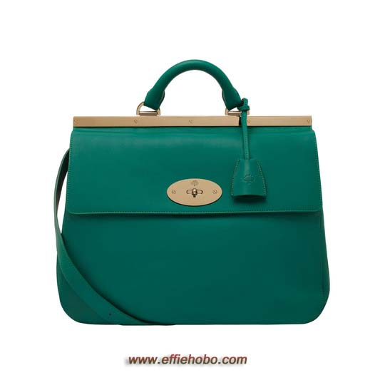 Mulberry Suffolk Emerald Classic Calf